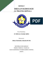 Refeerat Radiologis Trauma Kepala