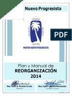 Manual Reorganizaión del Partido Nuevo Progresista 2014