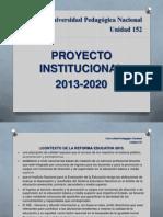 proyecto institucional 2020 original.ppt