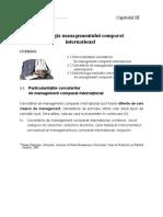 Metodologia Managementului Comparat Internaţional