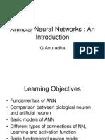 Artificial Neural Networks Rev