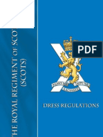 The Royal Regiments of Scotland Dress Regulations