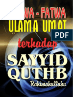 Fatwa Ulama Thd Sayyid Quthb