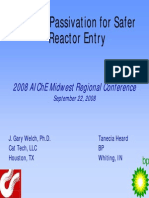 2008 Midwest Regional Heard Catalyst Passivation