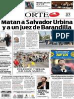 Periódico Norte edición impresa del día 27 de mayo del 2014