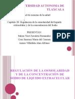 Regulacion de La Osmolaridad Del LEC y la Concentracion del ion sodio