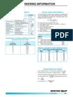 Helical Gears Formulas