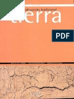 Diccionario de Construcción Tradicional- Tierra by Jaime Hoz Onrubia- Luis Maldonado Ramos- Fernando Vela Cossió