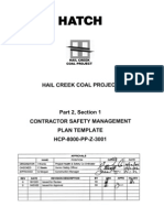 HCP-8000-PL-Z-3301 P2 S01 Contractor SMP Template Rev 0