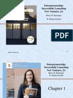 001 Introduction to Entrepreneurship