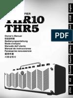 THR10 - THR5 Guitar Amplifier Manual Ru