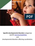 Specific Developmental Disorder