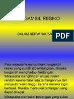 MENGAMBIL RESIKO