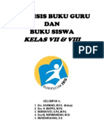 Format Analisis Buku Guru & Siswa