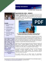 OSCC MAMPU October - November 2009 e-Newsletter