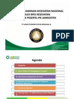 Sosialisasi Jaminan Kesehatan Nasional Oleh BPJS Kesehatan Untuk Peserta JPK Jamsostek1