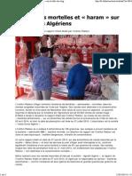 Des viandes mortelles et « haram » sur la table des Algériens.pdf