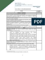 Anexa 3 Grila de verificare a Conformitatii Administrative