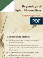 Beginnings of Filipino Nationalism