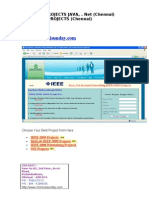 Ieee 2009 Projects Java .Net Titles
