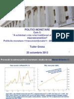 Curs.3 Pol Monetare
