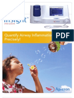 Insight eNO System to Assist Physcians with Patient Asthma Management