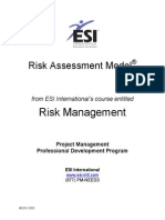ESI RiskAssessmentModel