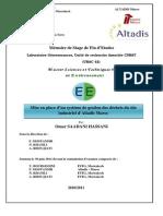 Rapport Altadis