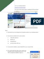 Guideline for Installing JPBi Toolgt in Your Desktop