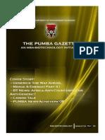 The PUMBA Gazette May '09 Edition