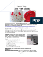Keyka Lou Patterns-Pixie Handbag