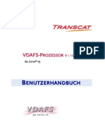 Vda Transcat Manual