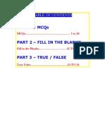 Principles of Management(MBA 1st Sem)MCQs