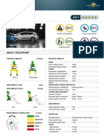 Hyundai i40 EuroNCAP