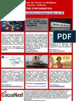 Lettre d'information arts et culture (avril 2014)