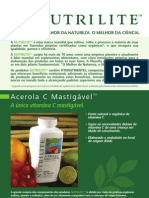 Acerola C Mastigável - NUTRILITE