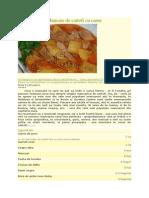 Mancare de Cartofi Cu Carne