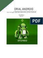 Membuat Aplikasi Calculator For Android