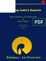 Enhancing India's Exports