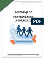 Swati Patle Performance Apprisal