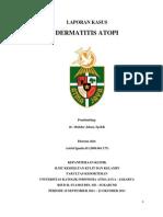 Laporan Kasus Dermatitis Atopi Tipe Bayi
