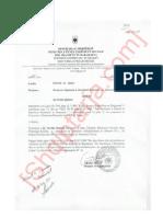 5 paralajmërime dhe masa disiplinore për largim nga puna për Nertila Qafzezi