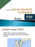Agencias de Transporte en Zaragoza
