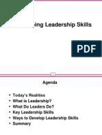 Presentation on Developing Leadership Skills