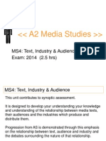Ms4 Text Industry Audience