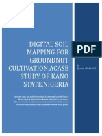 Digital Soil Mapping for Groundnut Cultivation.A case study of Kano State,Nigeria.
