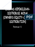 Eka 1202 Slide Ekuitas Kepemilikan Distribusi Modal Owners Equity - Capital Distribution - Copy