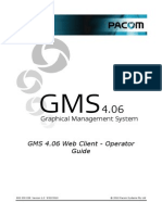 GMS 4.06 Web Client - Operator Guide