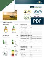 Isuzu D-Max EuroNCAP
