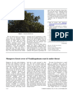 Mangrove Forest Cover of Visakhapatnam Coast is Under Threat